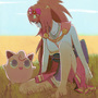 Oichi and Jigglypuff by jaimito