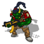 Warhammer 40K - Ork by TheLuxerDuxer