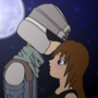 34 X Chenana: Forehead Kiss by Chenana1