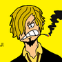 Smoking Sanji by LittleMofreaky