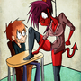 Sexy Demon Teacher from HELL!! by PyroToaster