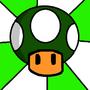 Mario's One Up Mushroom by TalvishTV