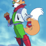 Fox McCloud by dodgyrommer
