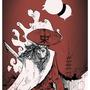 cloudy samurai by InspectorGadget