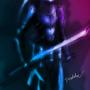 Cyborg Ninja Zora by veselekov