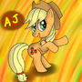 Applejack by RainbowFlavoredChaos