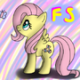 Fluttershy by RainbowFlavoredChaos