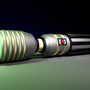 Custom 3D Jedi Lightsaber by ghostwalker91