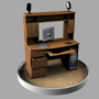 Personal Desk by 3D-xelu
