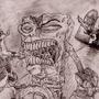 Zombie Spongebob by MadCow