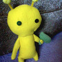 Alien Hominid Plushie by MoriChax