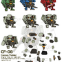 mecha flash sprites by NCH