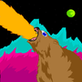 COSMIC BEAR by DangerAlec