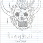 Flamin Skull by Flash-Gamers