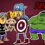 Avengers by peixeaquatico