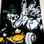 Dr. Doom Stencil by juturnal