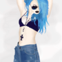 Blue Hair by killer34578