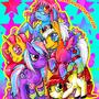ponies by xxanemia