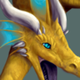 Dragon closeup by Trunchbull