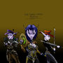 Three Hatted Rogues by PatBest22