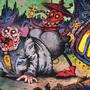 Satan Meets a fat man by JWBalsley