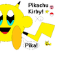 Pikachu Kirby by Kirbemon2000