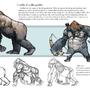 Gorilla Study by Jettyjetjet