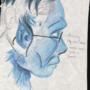 Hank, My Blue Rose by warror