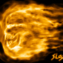 Flame Skull by SlashS7