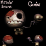 The Binding of Isaac - Gemini by KingBlackToof