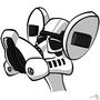 Pinky Storm Trooper by Kinsei