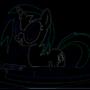 Vinyl Scratch Neon! by Shanejaya