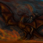 Concept Sketch Dragon+Rider by MadeaGwyn