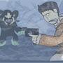 Uncharted 2: Yeti by diggitfireball