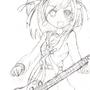 Haruhi (Commision Art) by Anim3xl0v3r