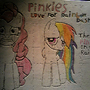 Pinkie's Love For Rainbow Dash by Workard