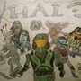 Halo Characters by WHOLEASS
