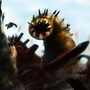EBF Desert Worm vs Legless Cat by ZaneZansorrow