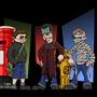 Little Marshalls on Halloween by Kacassero