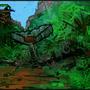 Guerilla Nest in the Jungle