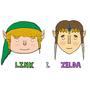 Link and Zelda by ClassyRaptor