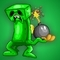 Creeper and the Bomb-omb