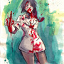 Zombie Nurse by FASSLAYER