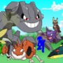My team from HeartGold by oxob3000