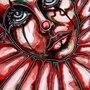 Red Clown by BannBann