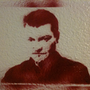 Charlie Brooker Stencil by AndyJones