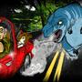 Dark art (DK prod)Dino run by Arumansoru
