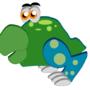 Green Creature by DarkTopaz