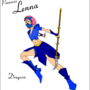 FF5 Lenna !Dragoon by KyuubiT