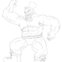 Fancy Zangief by Kutter11